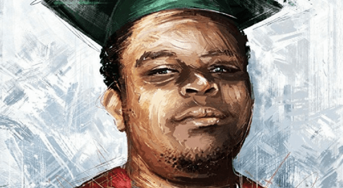 A Michael Brown painting