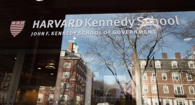 harvard kennedy school phd application
