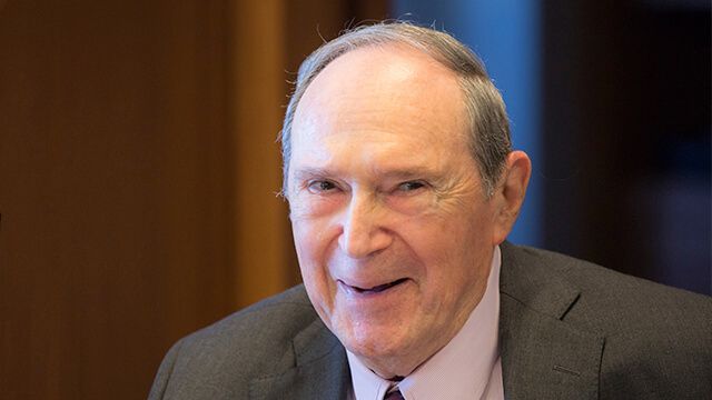 "Harvard Kennedy School Mourns the Passing of Gustave ""Gus"" Hauser"