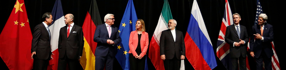 Country representatives involved in the Iran Nuclear Deal