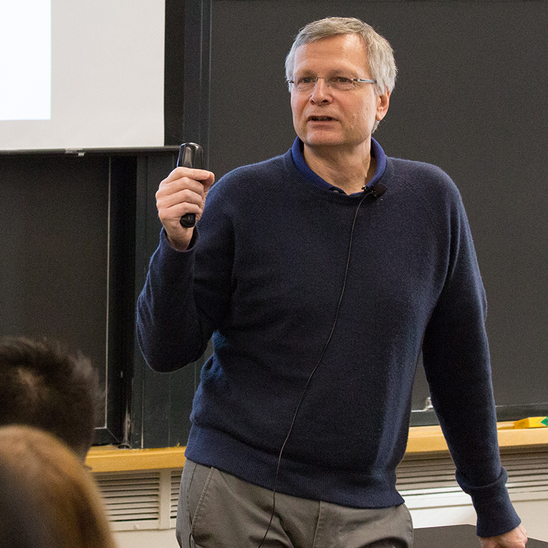 Professor Dani Rodrik at Harvard Kennedy School