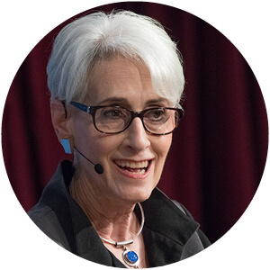 Photo of HKS professor Wendy Sherman.