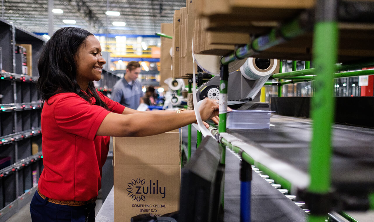 JobsOhio has helped home-grown businesses and employers, but it has also worked to attract new jobs to the state, such as Seattle-based online retailer Zulily (above), which has brought hundreds of jobs to the Columbus region.