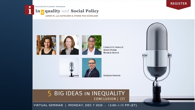 5 Big Ideas in Inequality Lunch Series | Week 7: Conclusion Photo